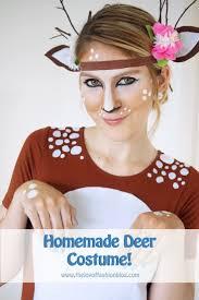Deer Antlers Halloween Costume 25 Deer Costume Diy Ideas Deer Costume Diy