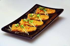 cuisine spicy japanese cuisine momiji salmon spicy sauce
