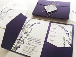 lavender wedding invitations lavender wedding invitations