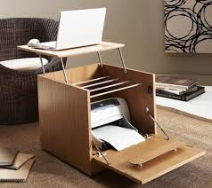 Modern Desks Small Spaces Extraordinary Contemporary Desks For Small Spaces Photo Design