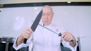 how to sharpen knives at home youtube