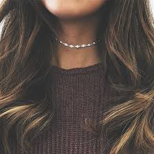 choker necklace store images Buy simple fashion delicate women shiny jpg