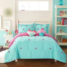 Daybed Comforter Sets Walmart Better Homes And Gardens Kids Pom Pom Comforter Set Walmart Com