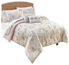 Beachy Comforters Sets Seascape Comforter Set Beach Style Comforters And Comforter