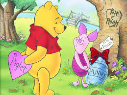 winnie the pooh valentines day winnie the pooh wallpaper pooh and piglet valentines day