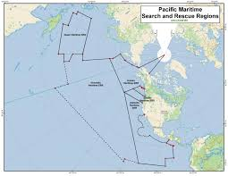 Guam World Map Gmdss Areas And Search And Rescue Areas