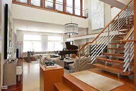two story living room 7 5 million award winning renovated loft with two story living room