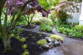 shade garden designs colorful flower ideas gallery woodland design