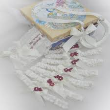 garters for wedding treat your to gorgeous matching garters they ll feel so special