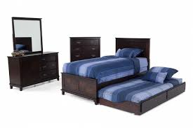 What Is A Trundle Bed Chadwick Twin Full Bunk Bed With Trundle Bob U0027s Discount Furniture