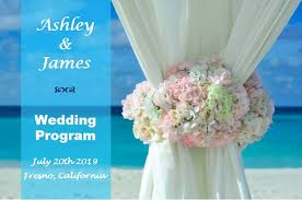 Design Wedding Programs Design Your Own Wedding Programs Outside The Box Wedding