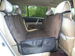 stowe hammock for dog doubles as car seat coverbackseat petco back