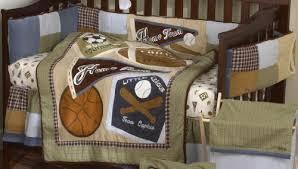baby boy sports crib bedding