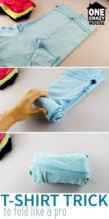 How to fold a shirt 5 ways like a pro