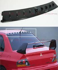 mitsubishi evo spoiler for 01 07 mitsubishi lancer evo 7 8 9 carbon fiber roof vortex