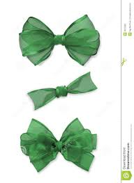 green bows stock photography image 3670592