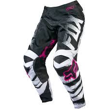 motocross bike gear fox ladies mx gear new black pink white motocross dirt bike womens
