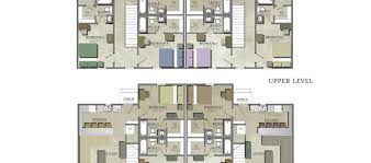 Duplex House Plans  Bedrooms  Bedroom Duplex Floor Plans - 5 bedroom house floor plans