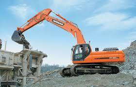 doosan heavy equipment excavator dumpers