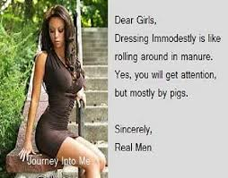 Dear Girls Dressing Immodestly Journey Into Me