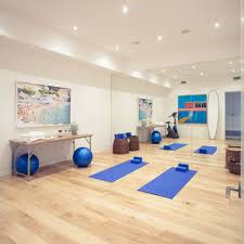 gym design home gym contemporary with open floor plan wood flooring