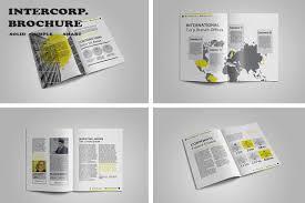 intercorp brochure template by bizzcrea design bundles