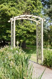 zest 4 leisure daria trellis wooden garden arch pergola plant