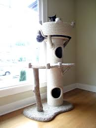 cat furniture modern cat furniture tower large bamboo decor