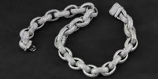 link bracelet images Iced out hermes link bracelet chain 8mm acrobat bijouterie gonin JPG