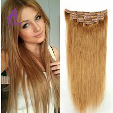 remy clip in hair extensions remy clip in hair extensions 27 honey 7a grade