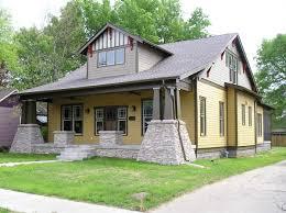 craftsman design homes bungalow craftsman stock house plan 1005c made plans