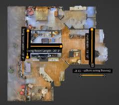 Floor Plan Measurements Roomsketcher Fast And Flexible Floor Plans From Matterport Scans