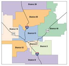 Maps Colorado Springs by Metro Area Districts Insider Colorado Springs Independent