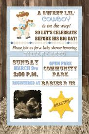 baby shower cowboy 21 best baby shower invites images on pinterest cowboy baby