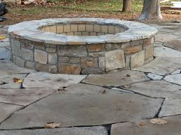 Backyard Stone Fire Pit by Stone Fire Pit Designs Crafts Home