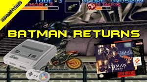 batman returns super nintendo crgr remastered classic retro game