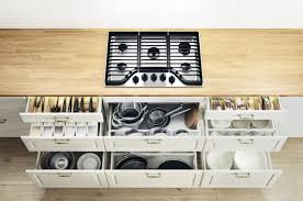 ikea kitchens designs drawer within drawer systems and integrated lighting the latest in