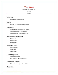 Download A Sample Resume by Sample High Resume High Student Resume Example