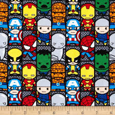 marvel comics the avengers kawaii set patch multi from