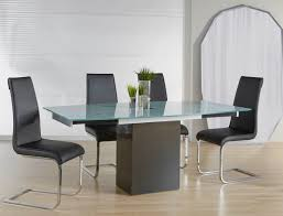 Frosted Glass Dining Room Table Quadrato Extension Dining Table