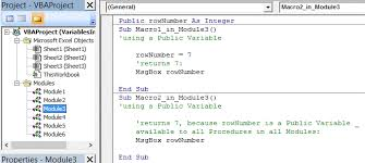 declaring variables using dim statement variable names
