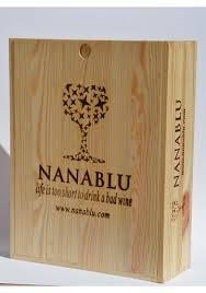 cassette vino cassetta legno per vino da 3 bottiglie nanablu