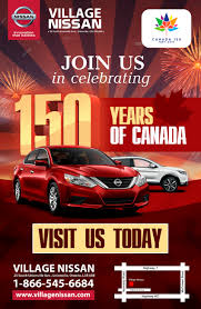 nissan canada trade in 150 years of canada sales event village nissan unionville