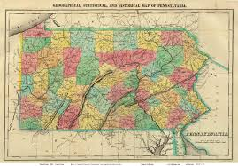 Map Of New Jersey And Pennsylvania by Old Maps Of Pennsylvania