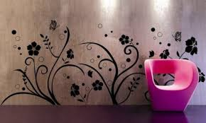 home wallpaper designs interior wallpaper design flower motif exotic house interior designs
