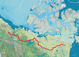Canadian River Map Exclusive Adam Shoalts On His Epic Trans Canadian Arctic