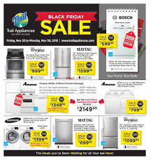 black friday appliances trail appliances bc black friday flyer november 20 to 30