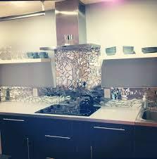 antique mirrored kitchen backsplash home design ideas