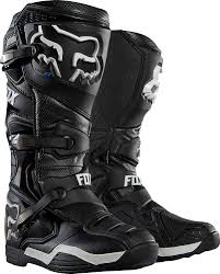 leather dirt bike boots 2017 fox racing comp 8 boots motocross dirtbike ebay