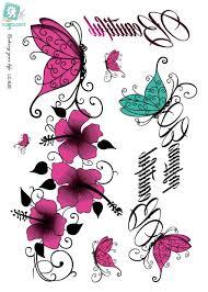 online get cheap large butterfly tattoo aliexpress com alibaba
